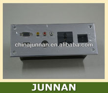 240v Wall Socket with RJ45/Data, RJ11/Tel, RCA, USB, VGA, XLR, HDMI etc.