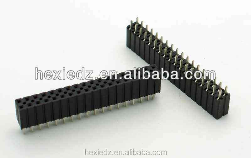 "36 Pin Female Dual Row Header Connector PC Mount (Pitch: 0.1"")"