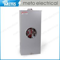 Meto 600V Ringless Type 4 jaws Electrical Plug Types Electronic Enclosures Extension Socket Covers /Meter Box
