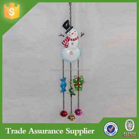 JHB Handmade christmas snow man decoration bell