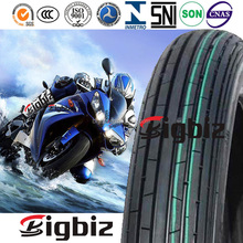 Discount 2.25-17 motorcycle tire with natural rubber tube