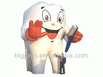 inflatable tooth model for advertising,inflatable advertising