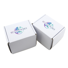 Lovely small folding gift box custom product packaging paper box