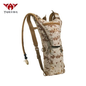Yakeda wholesale Tactical water backpack hydration pack with 3L bladder