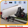 China manufacture 40--45cbm 3 axles bulk cement tanker semitrailer for sale