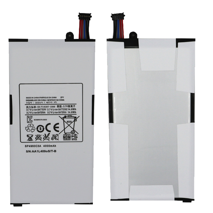 "3.7V Tablet PC Battery SP4960C3A for Galaxy Tab 1st 7"" GT-P1000 GT-P1010 SGH-T849"