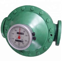 LC Oval Gear Diesel Oil Flow Meter/fuel oil flow meter for diesel, kerosene,light and heavy oil measurement