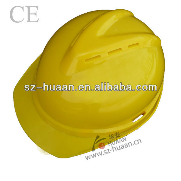 CE en397 ABS Material V gard hard hat for construction