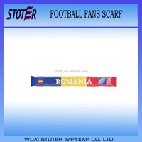 Wholesale football sports customized team fan scarf