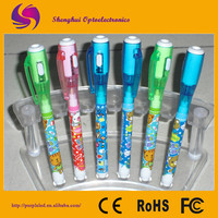 2015 factory wholesale good quality uv light invisible ink pen samples is free