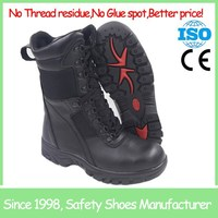 SF5761 good quality comfortable anti slip rubber sole safety boots