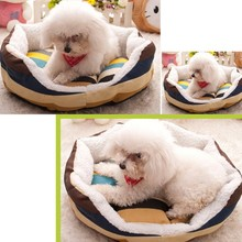 Dogs Application and Eco-Friendly Lovely Stocked Feature flower shaped Pet Bed for dog and cat in writer