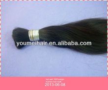 top quality virgin cheap 100% human hair bulk Indian remy hair,Brazilian hair,Asian hair
