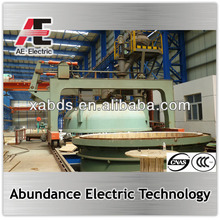 China vacuum Ladle Refining Industrial Melting Furnace VD VOD