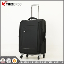 New design waterproof 4 wheels smart suitcase travelmate luggage