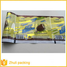 Ice Cream Plastic Packing Printed Roll Film