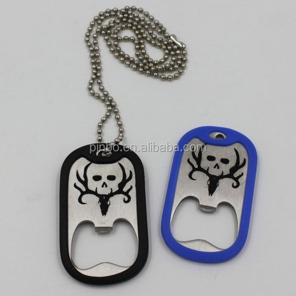 Dog Tag Chain with Bottle Opener