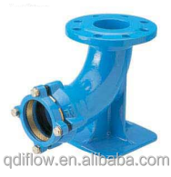 Ductile Iron Duck Foot Bend Flanged & Socket Joint
