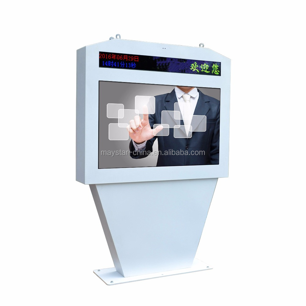 Full hd lcd wirelesse display outdoor elevator led advertising player