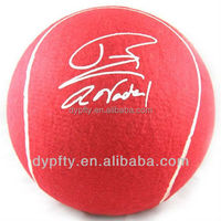 "giant jumbo custom printed tennis balls 16"" for promotional"
