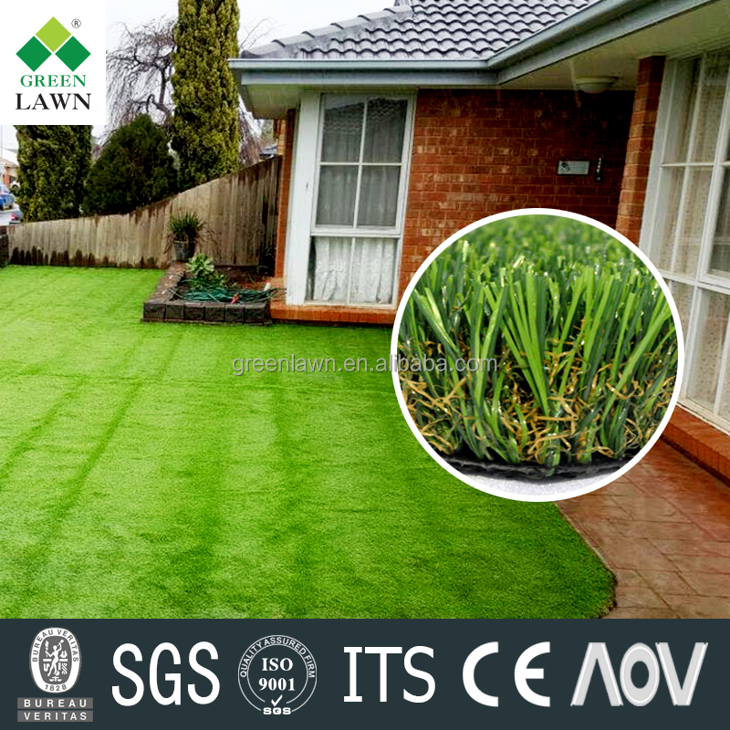 wuxi manufacturing landscaping artificial grass carpet/ artificial turf grass