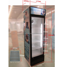 Single Door Beverage cooler with Fan Assisted Cooling system
