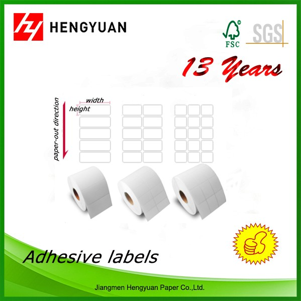 Customized Sticker Label Self Adhesive Paper