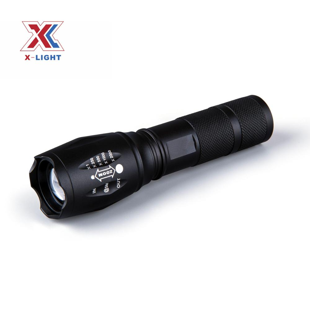 E17 Type XML <strong>U2</strong> LED Rechargeable 2000 Lumen Bike Light For Bike