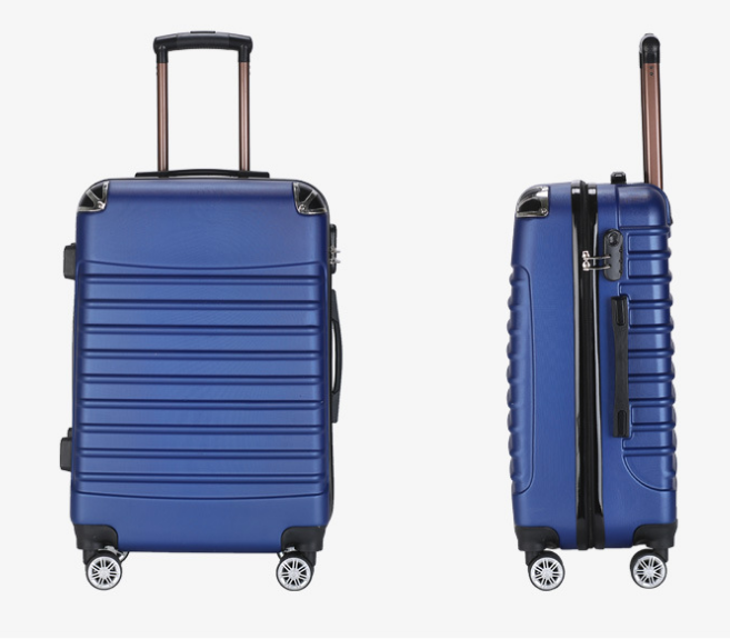 24inch <strong>ABS</strong> Expandable Travel Rolling Wheels Suitcase Carry On Luggage
