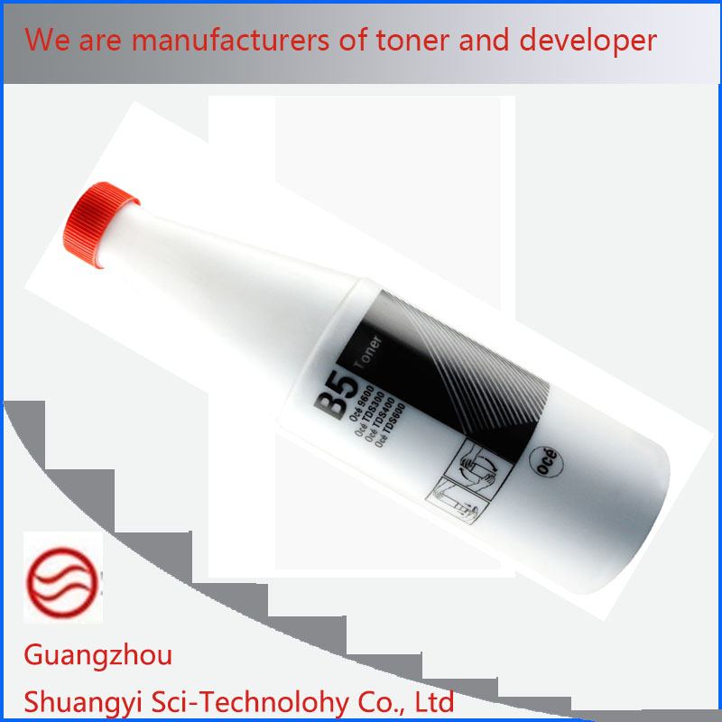 Black Powder Toner Compatible OCE B5 Toner, For Use In TDS300 320 400 700 OCE9300 9400 9400II PW300