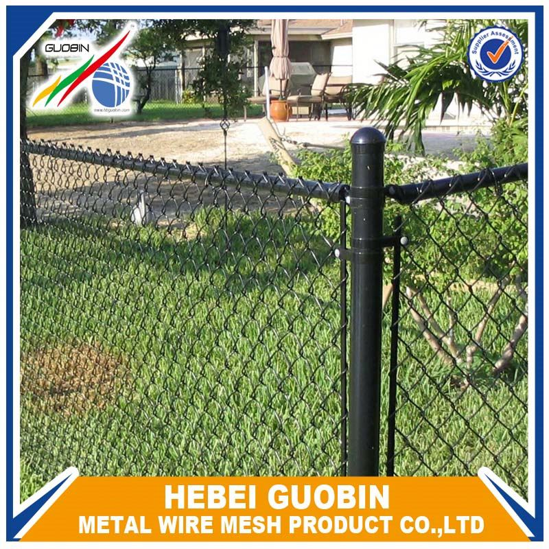 Hot dipped chainlink fence for cattle/cow/horse/sheep/goat