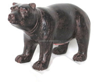 Resin black bear statues animal statues