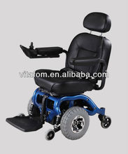Deluxe, Stable and Heavy Disabled/Handicapped/Elderly Indoor Power Wheelchair (Taiwan Motor & PG Controller) with CE