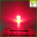5mm round transparent lighting emitting diode through hole led diode led diode lamp