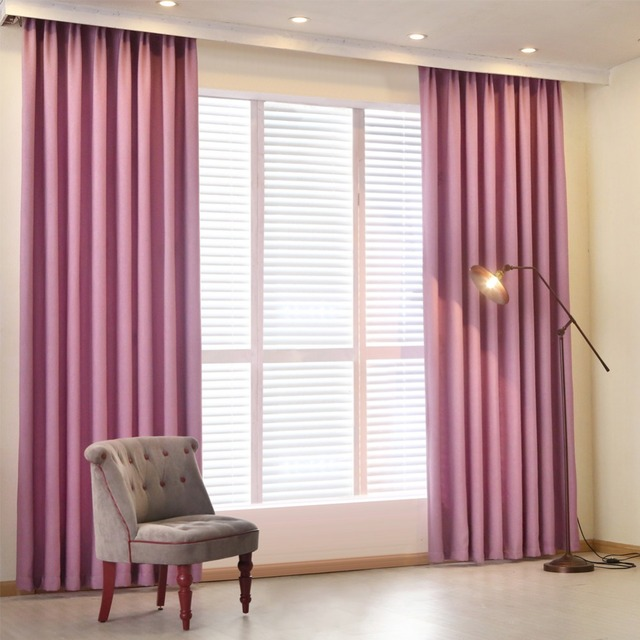 NAPEARL Modern curtain plain solid color blackout full shade living room window curtain panel short kitchen door curtain bedroom