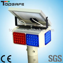 12V Solar LED Warning Traffic Light