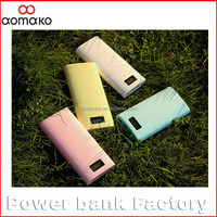 N022 Portable 20000mAh with screen display power bank for laptop emergency battery charger for iphone 6 power bank