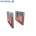 RFID Access control pedestrian passage turnstiles Swing Barrier Gate