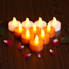 Mini Plastic Led Tea Light Candle