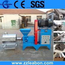 Leabon Rice Husk Briquette Making Machine to Produce Hollow Charcoal Briquettes