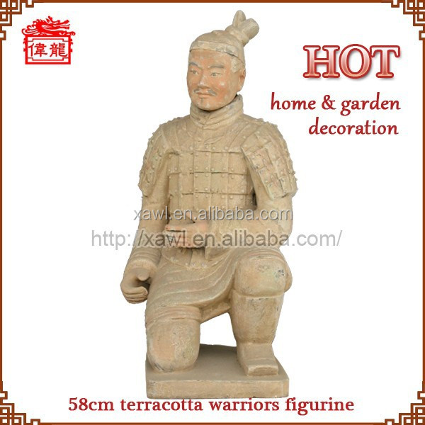 Hot sale warriors and horse sculpture YGF87-4