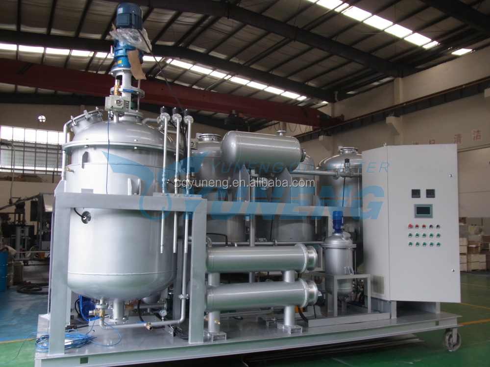 Used Motor Oil Cleaning Device, Waste Engine Oil Recycling System YNZSY Series