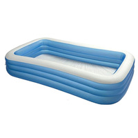 "Intex 58484 Swim Center Inflatable Family Lounge Pool, 88 X 85 X 30"" Swimming-Pool New"