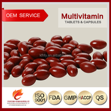 Nutrition Manufacturer GMP Factory Wholesale Multivitamin Softgel Capsules