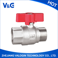 Kitchen Distinctive Flange Type Ball Valve