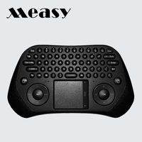 Measy GP800 Air Mouse Remote Control 2.4G Mini Wireless Keyboard with Touchpad For Android TV Box OTT TV Box Computer Mini PC