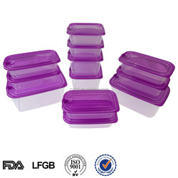 airtight easylock plastic food sushi container