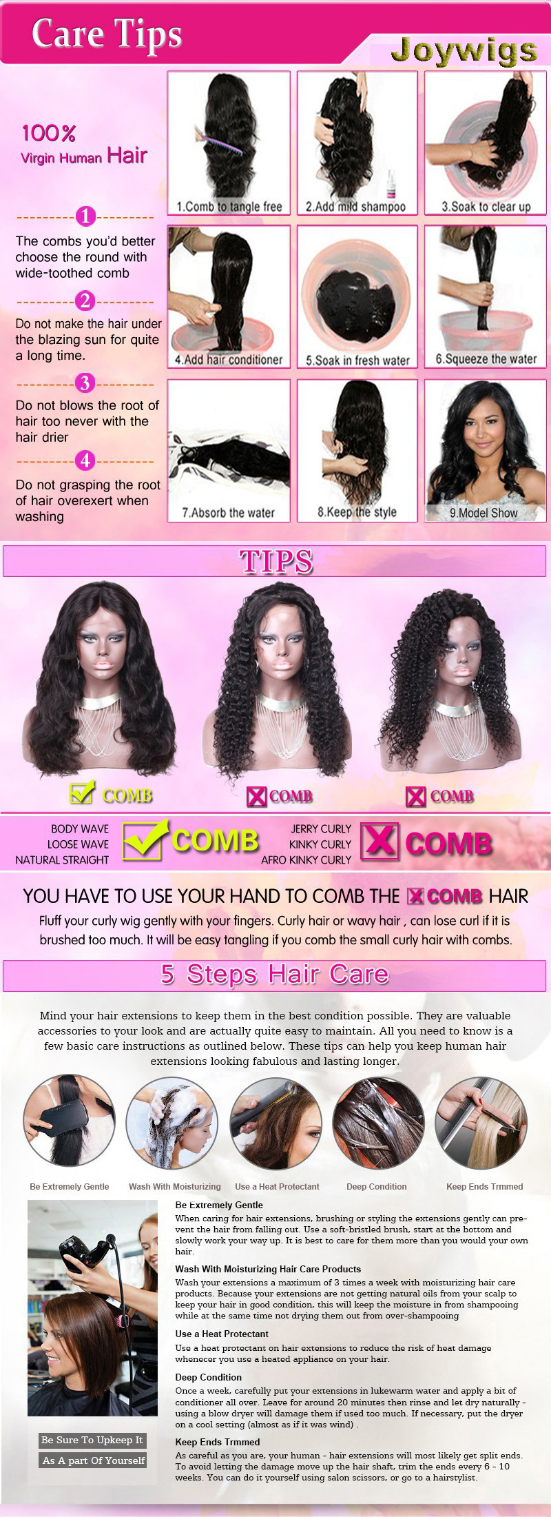 Promotion! Discounted price natural curly hair wigs