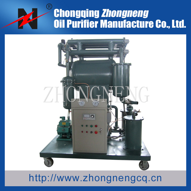 Series ZY Insulation Oil Purifier Machine, Single-stage Vacuum Insulation Oil Purfication Machine