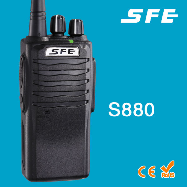 SFE S880 Waterproof Handheld Transceiver Walkie Talkie